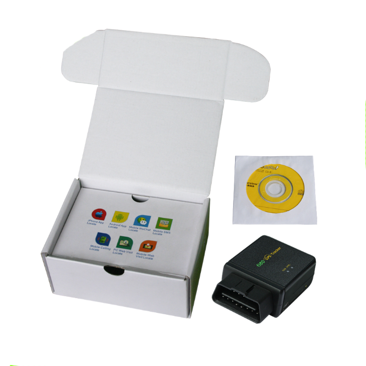 3G Module OBDII GPS Tracker With IPhone Android App Online Diagnostic Listen Sound CCTR-830
